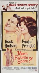 Man's Favorite Sport? - Theatrical poster (xs thumbnail)