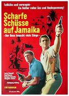 A 001, operazione Giamaica - German Movie Poster (xs thumbnail)