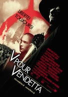 V for Vendetta - Swiss Movie Poster (xs thumbnail)