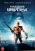 Masters Of The Universe - Danish DVD movie cover (xs thumbnail)