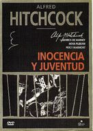 Young and Innocent - Spanish DVD cover (xs thumbnail)
