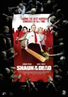 Shaun of the Dead - Swedish Movie Poster (xs thumbnail)