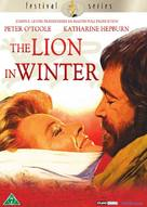 The Lion in Winter - Danish DVD cover (xs thumbnail)