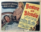 Beware of Blondie - Movie Poster (xs thumbnail)