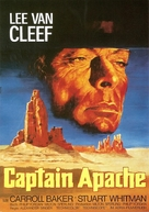 Captain Apache - German Movie Poster (xs thumbnail)
