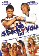 Stuck On You - Finnish DVD cover (xs thumbnail)