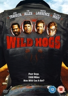 Wild Hogs - British DVD movie cover (xs thumbnail)