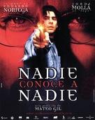 Nadie conoce a nadie - Spanish Movie Poster (xs thumbnail)