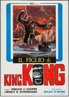 The Son of Kong - Italian Movie Poster (xs thumbnail)