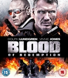 Blood of Redemption - British Blu-Ray movie cover (xs thumbnail)