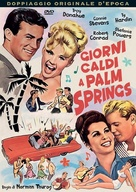 Palm Springs Weekend - Italian DVD movie cover (xs thumbnail)