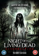 Night of the Living Dead: Resurrection - British DVD cover (xs thumbnail)