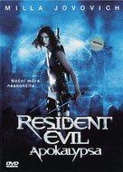 Resident Evil: Apocalypse - Czech Movie Cover (xs thumbnail)