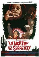 La notte dei serpenti - Italian Movie Poster (xs thumbnail)