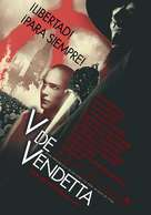 V For Vendetta - Spanish Movie Poster (xs thumbnail)