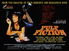 Pulp Fiction - British Theatrical movie poster (xs thumbnail)