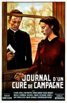 Journal d'un curé de campagne - French Movie Poster (xs thumbnail)
