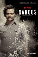 """Narcos"" - German Movie Poster (xs thumbnail)"