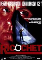 Ricochet - Spanish Movie Poster (xs thumbnail)
