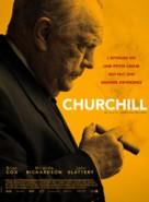 Churchill - French Movie Poster (xs thumbnail)