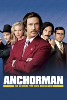 Anchorman: The Legend of Ron Burgundy - German Movie Poster (xs thumbnail)