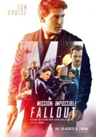 Mission: Impossible - Fallout - Italian Movie Poster (xs thumbnail)