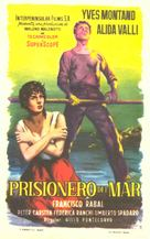 La grande strada azzurra - Spanish Movie Poster (xs thumbnail)