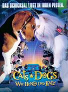 Cats & Dogs - German Movie Poster (xs thumbnail)