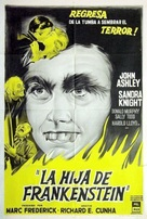 Frankenstein's Daughter - Argentinian Movie Poster (xs thumbnail)