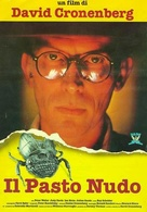 Naked Lunch - Italian Movie Poster (xs thumbnail)