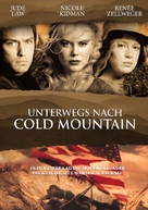 Cold Mountain - German Movie Cover (xs thumbnail)