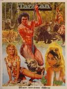 Tarzan and the Great River - Pakistani Movie Poster (xs thumbnail)