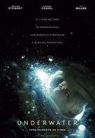 Underwater - Spanish Movie Poster (xs thumbnail)