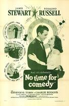 No Time for Comedy - poster (xs thumbnail)
