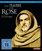 The Name of the Rose - German Blu-Ray cover (xs thumbnail)
