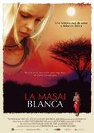 Weisse Massai, Die - Spanish poster (xs thumbnail)
