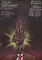 Warning Sign - Polish Movie Poster (xs thumbnail)