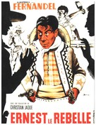 Ernest le rebelle - French Movie Poster (xs thumbnail)