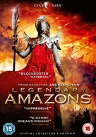 Legendary Amazons - British DVD cover (xs thumbnail)