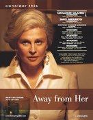 Away from Her - For your consideration poster (xs thumbnail)