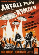 Earth vs. the Flying Saucers - Swedish Movie Poster (xs thumbnail)