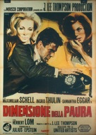 Return from the Ashes - Italian Movie Poster (xs thumbnail)