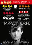 Mapplethorpe: Look at the Pictures - Swedish Movie Poster (xs thumbnail)