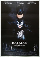 Batman Returns - Turkish Movie Poster (xs thumbnail)