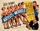 Artists & Models - Movie Poster (xs thumbnail)
