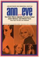 Ann och Eve - de erotiska - Swedish Movie Poster (xs thumbnail)