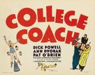 College Coach - Movie Poster (xs thumbnail)