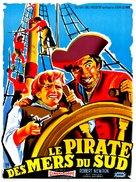 Long John Silver - French Movie Poster (xs thumbnail)