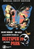 Una farfalla con le ali insanguinate - German DVD movie cover (xs thumbnail)