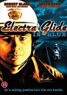 Electra Glide in Blue - Danish DVD cover (xs thumbnail)